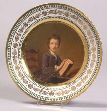 Imperial Porcelain Portrait Plate