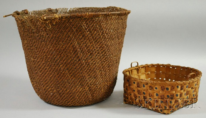 Two American Indian Baskets
