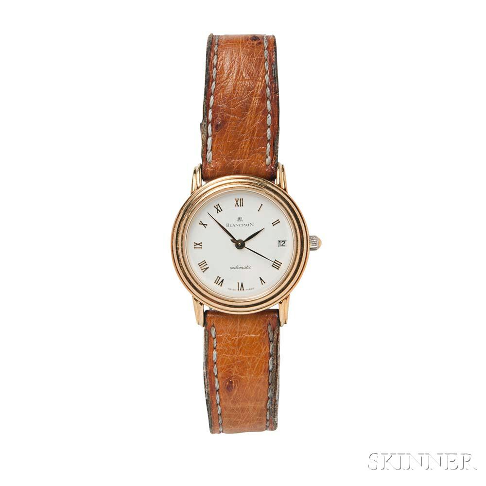 18kt Gold Wristwatch, Blancpain