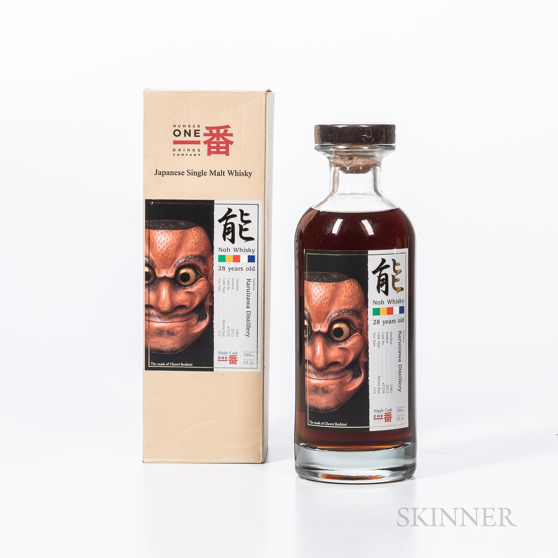 Karuizawa Noh 28 Years Old 1983, 1 70cl bottle (oc)