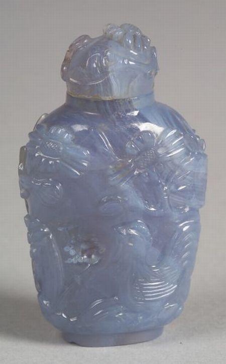 Chalcedony Snuff Bottle