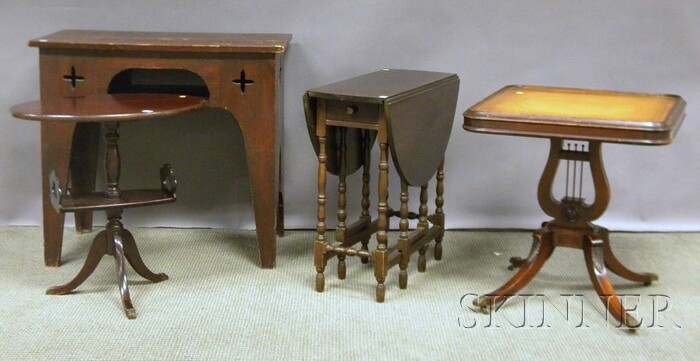 Four Pieces of Furniture
