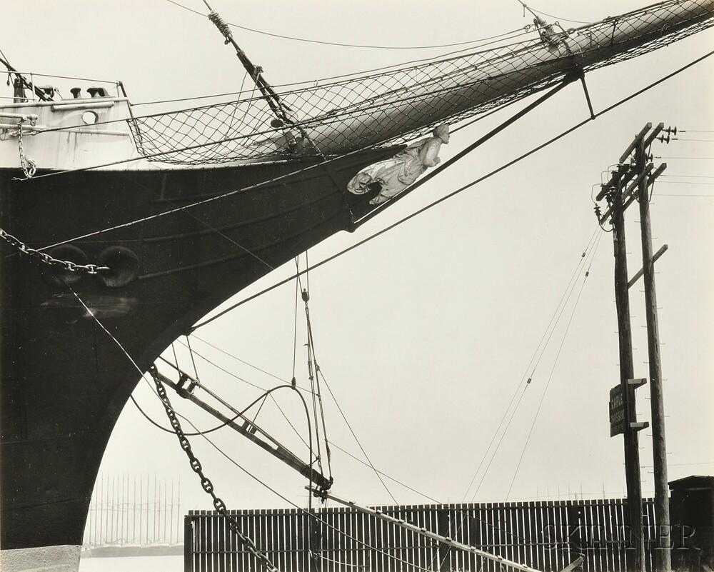 Edward Weston (American, 1886-1958)      Boats, San Francisco