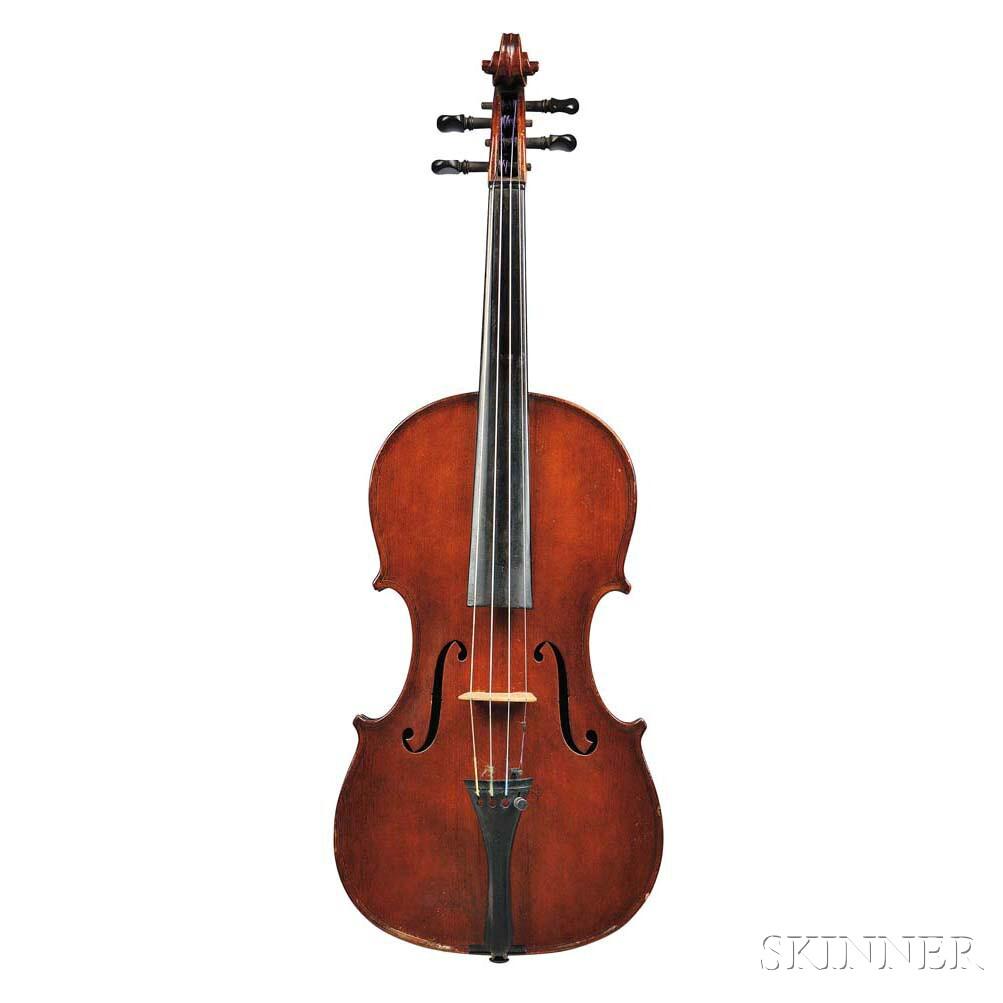 American Violin, Asa Warren White, Boston, 1877