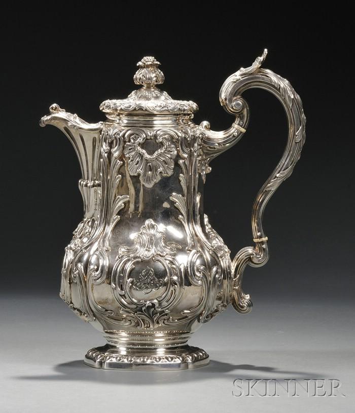 Odiot .950 Silver Hot Water Pot