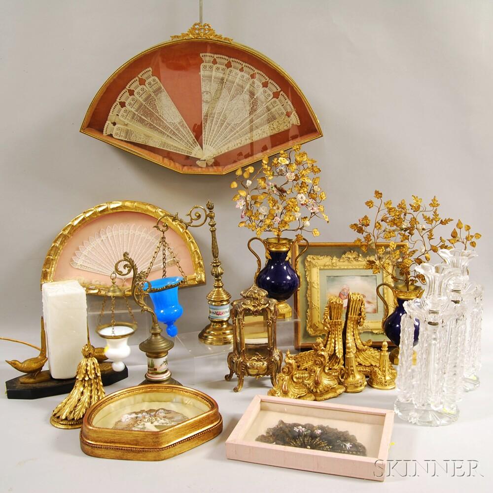 Twenty Assorted Decorative Items