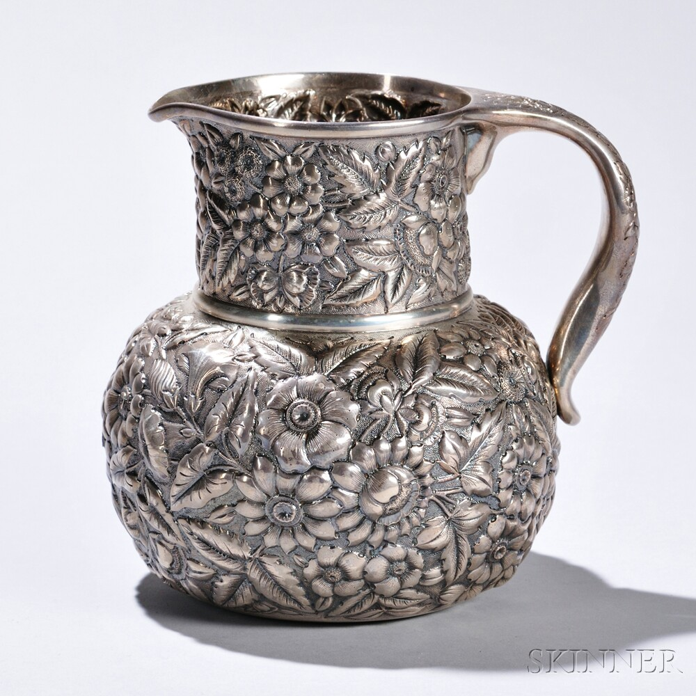 Whiting Sterling Silver Pitcher