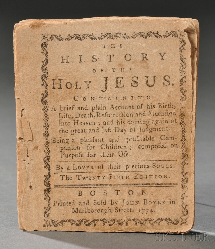 Lover of Their Precious Souls. The History of the Holy Jesus