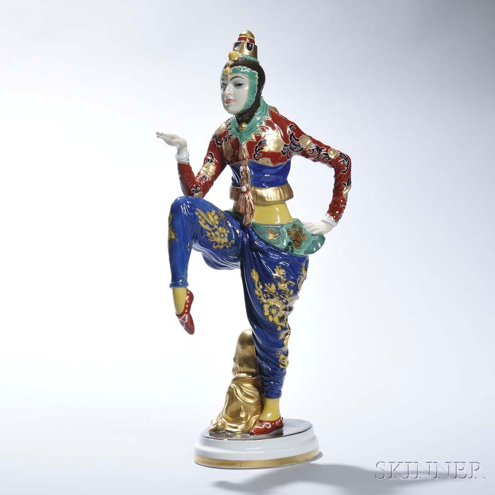 """Rosenthal Porcelain """"Korean Dancer,"""""""