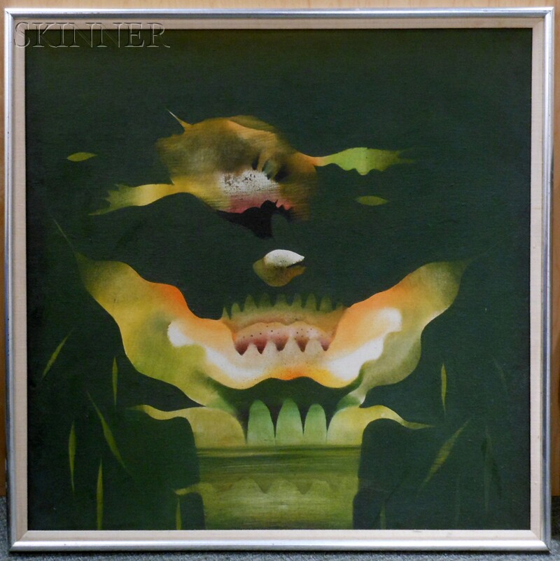 Bimal Das Gupta (Indian, 1917-1995)      Lotus