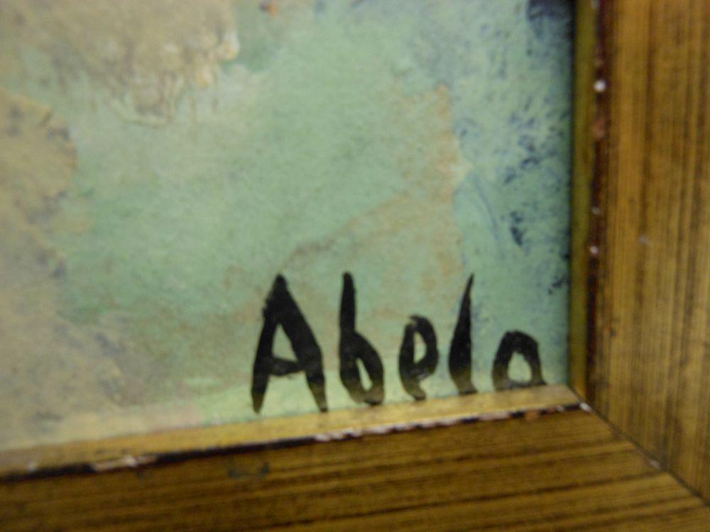 Eduardo Abela (Cuban, 1889-1965)    Untitled