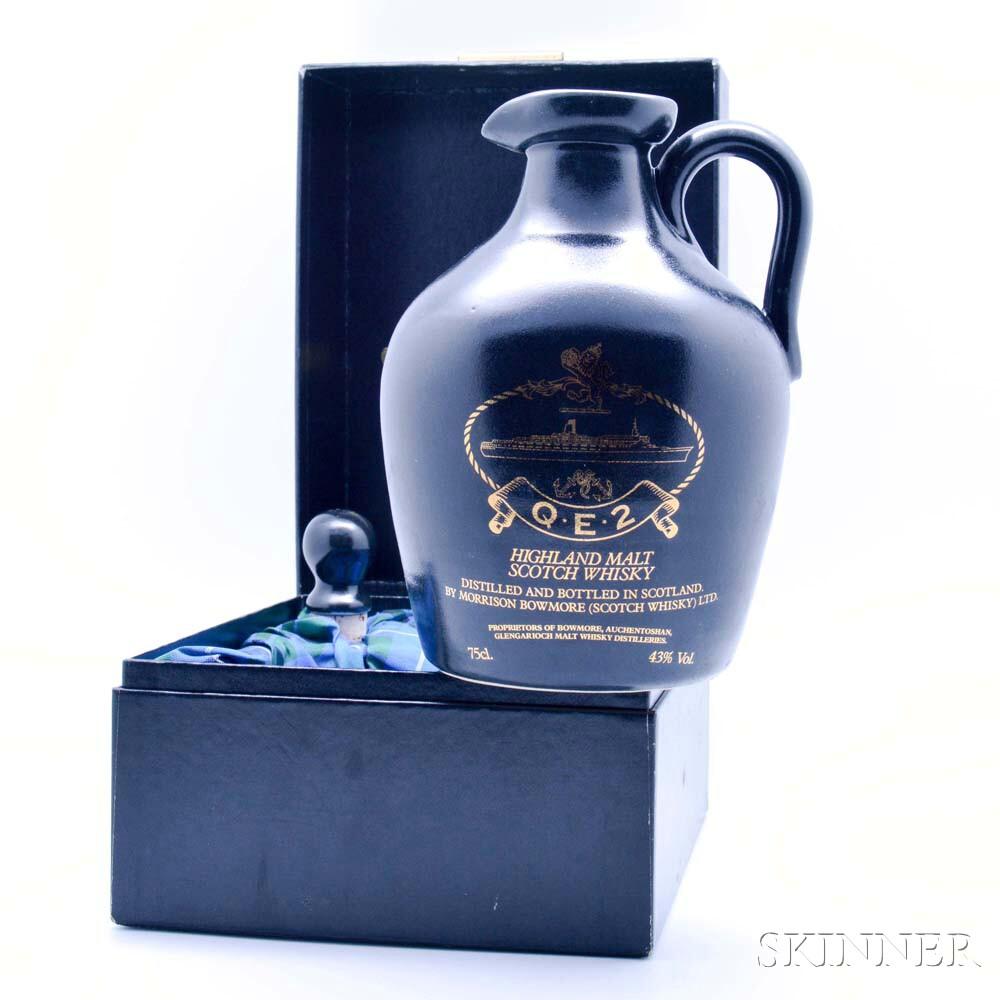 QE2 Highland Malt Scotch Whisky, 1 750ml bottle (pc)