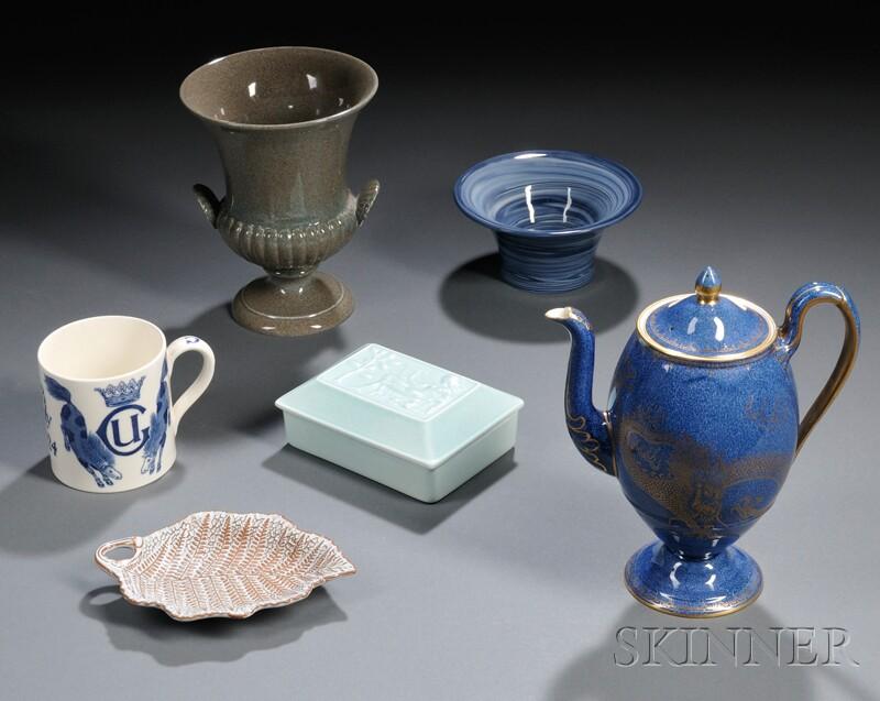 Six 20th Century Wedgwood Items