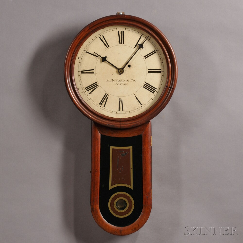 Custom Order E. Howard Keyhole Clock