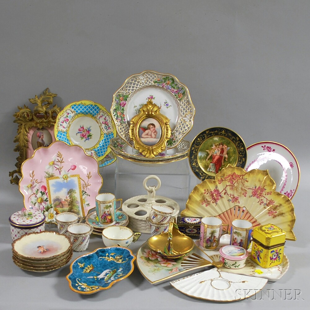 Approximately Thirty-seven Assorted Mostly Porcelain items