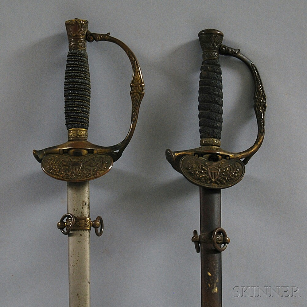 Two Swords and Scabbards