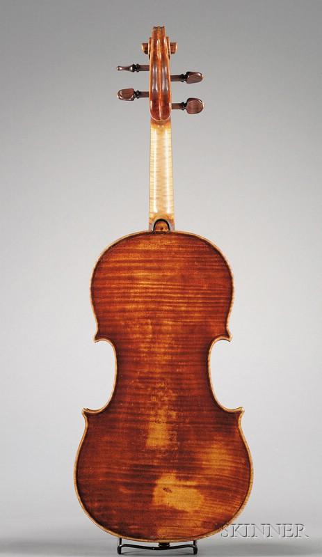 French Violin, Francois Pique, Paris, c. 1790