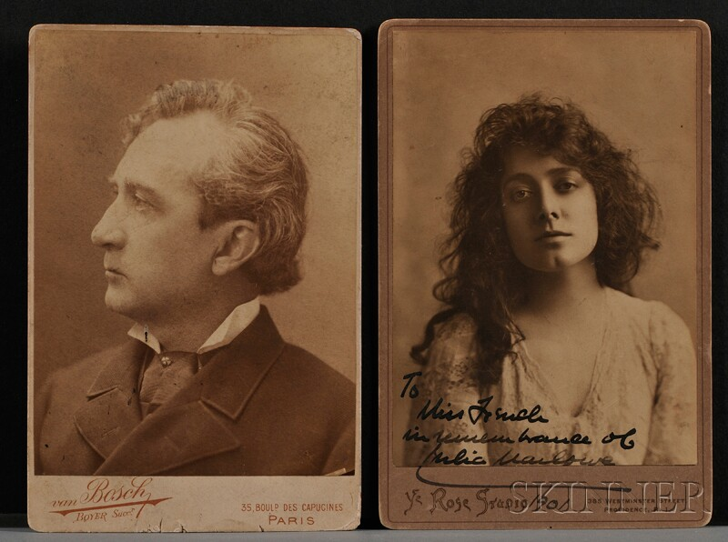 (Theater Figures, 19th Century), Booth, Edwin and Marlowe, Julia