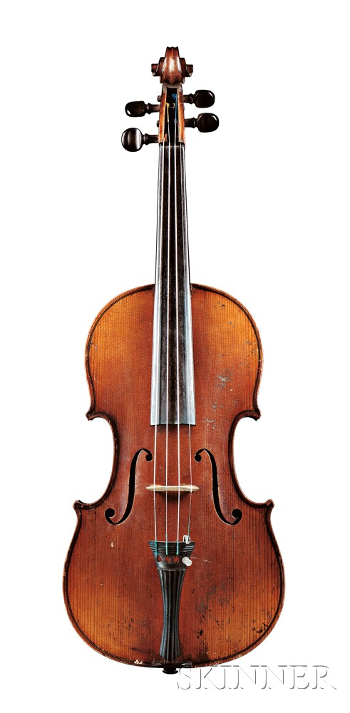 French Violin, Charles J.B. Collin-Mezin, Paris, c. 1890