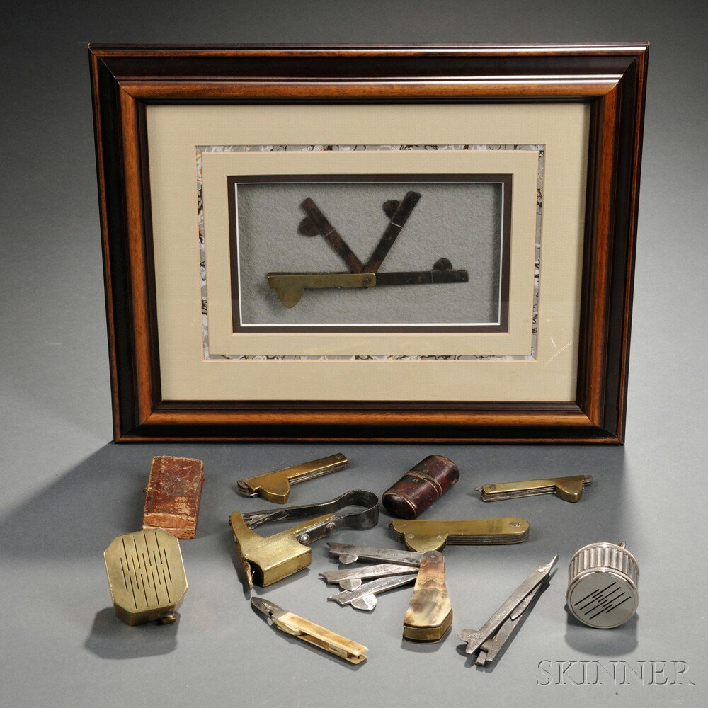 Group of Bloodletting Instruments