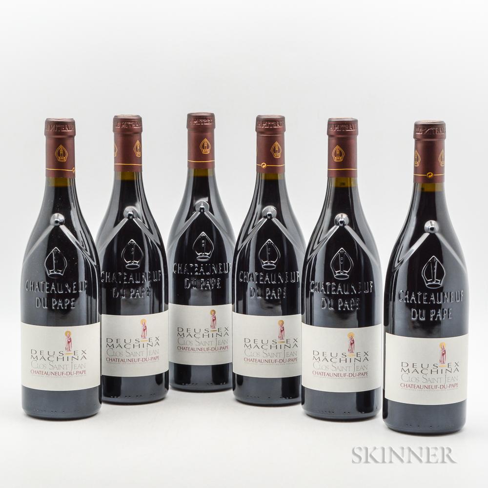 Clos Saint Jean Chateauneuf du Pape Deus Ex Machina 2009, 6 bottles