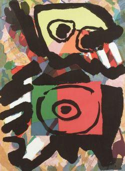 Karel Appel  (Dutch/American, b. 1921)  Image