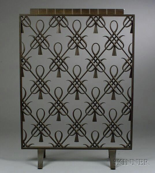 Art Deco Fireplace Screen Sale Number 2439 Lot Number 349 Skinner Auctioneers