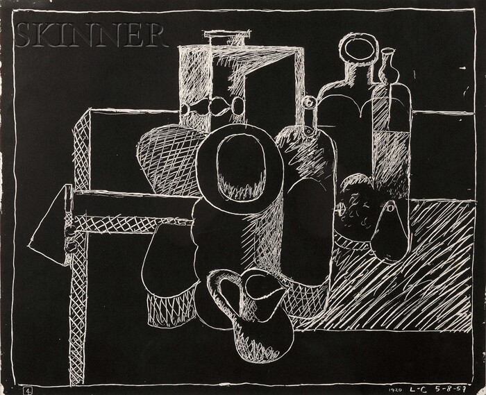 Le Corbusier (French/Swiss, 1887-1965)      Still Life
