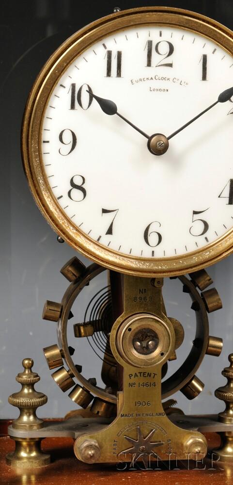 Eureka Clock Co. Balance Wheel Electric Timepiece