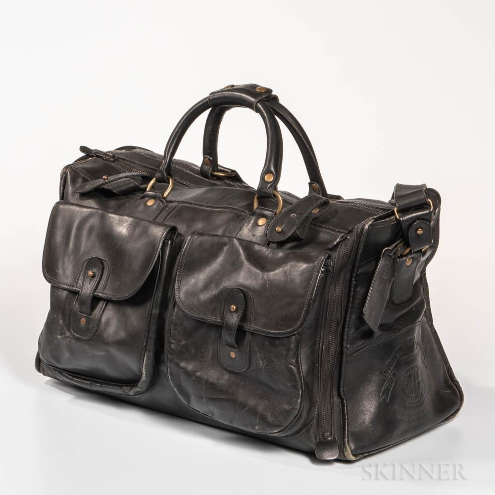 Black Leather Marley Hodgson Ghurka Bag