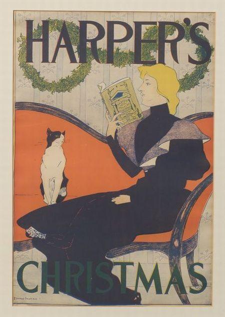 Edward Penfield      Harper's Christmas 1894