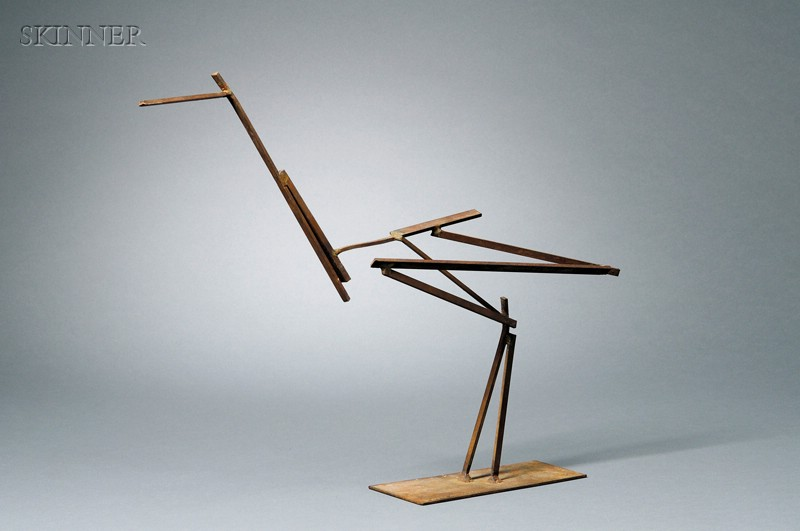 Hsiung Ping Ming [Xiong Bingming] (Chinese/French, 1922-2000)      Crane