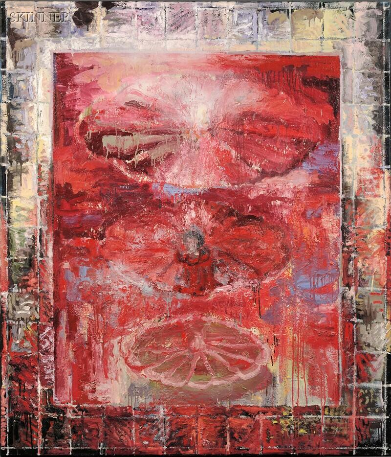 Miroslav Antic (Yugoslavian/American, 20th/21st Century)      Untitled