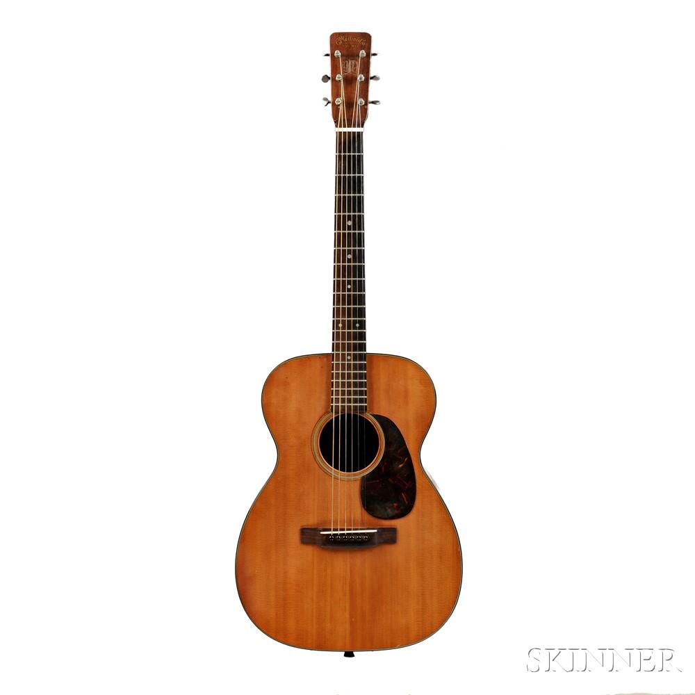 American Guitar, C.F. Martin & Company, Nazareth, Pennsylvania, 1963/64,   Model 00-18