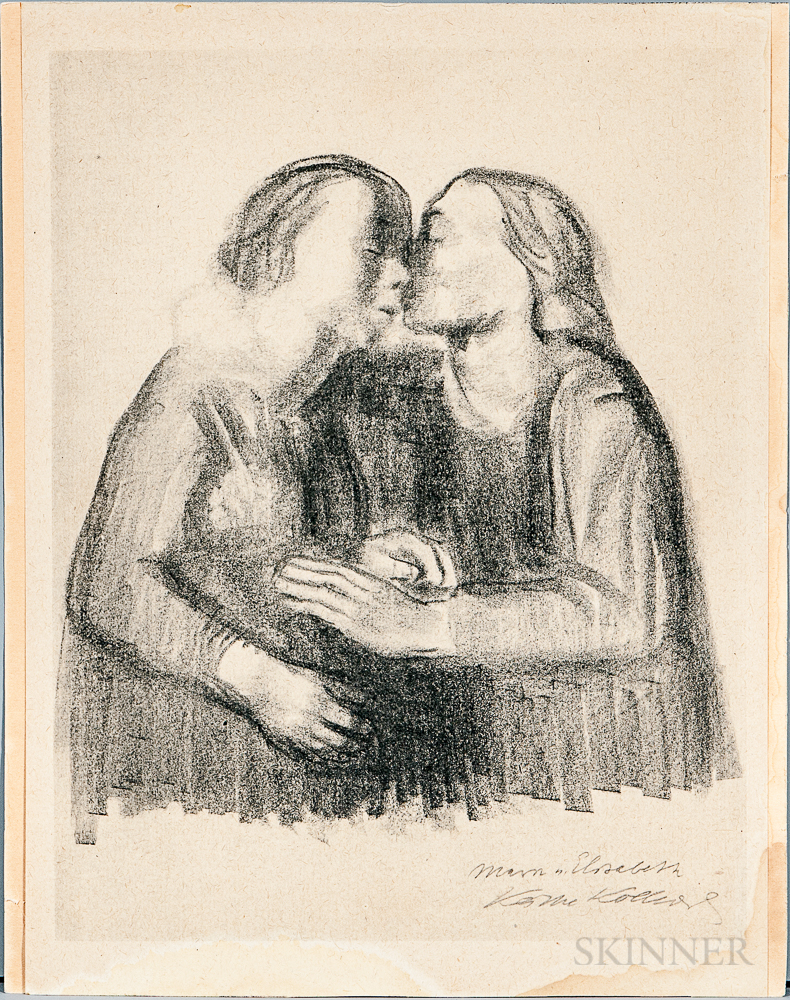 Collotype Reproduction After Kathe Kollwitz