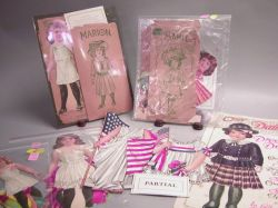Lot of Selchow and Righter and American Colortype Paper Dolls
