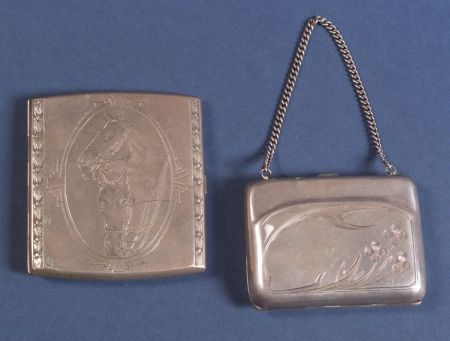 Two Russian Silver Cases
