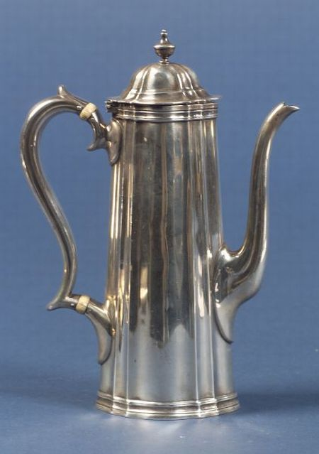 Tiffany & Co. Sterling Demitasse Pot
