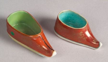 Two Porcelain Wine Cups