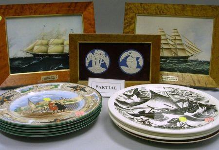 Thirteen Assorted Wedgwood Decorated Ceramic Items