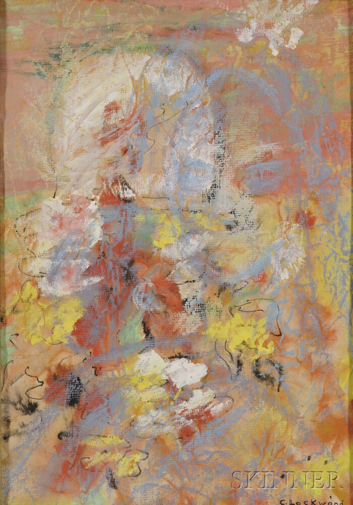 Charlotte E. Lockwood (American, 1916-2010)      Abstract Composition