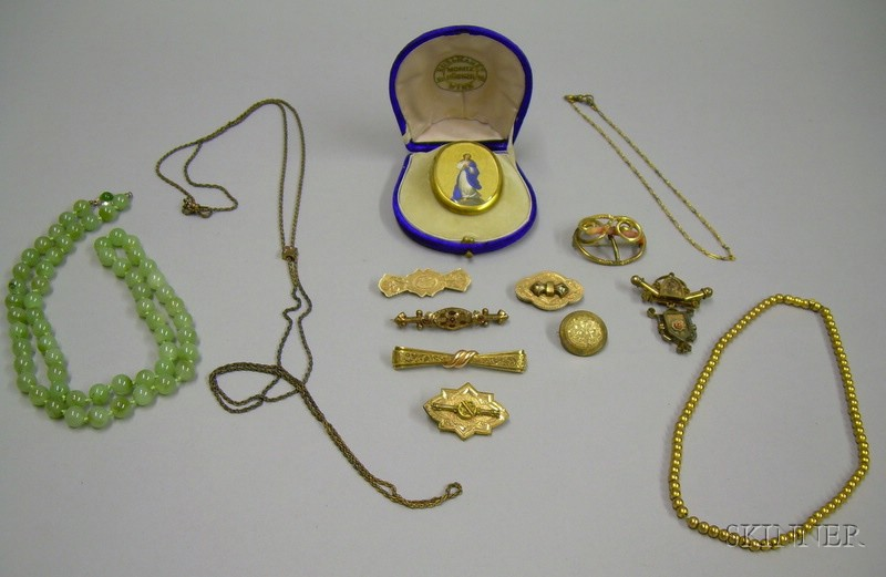 Assortment of Victorian and Later Jewelry