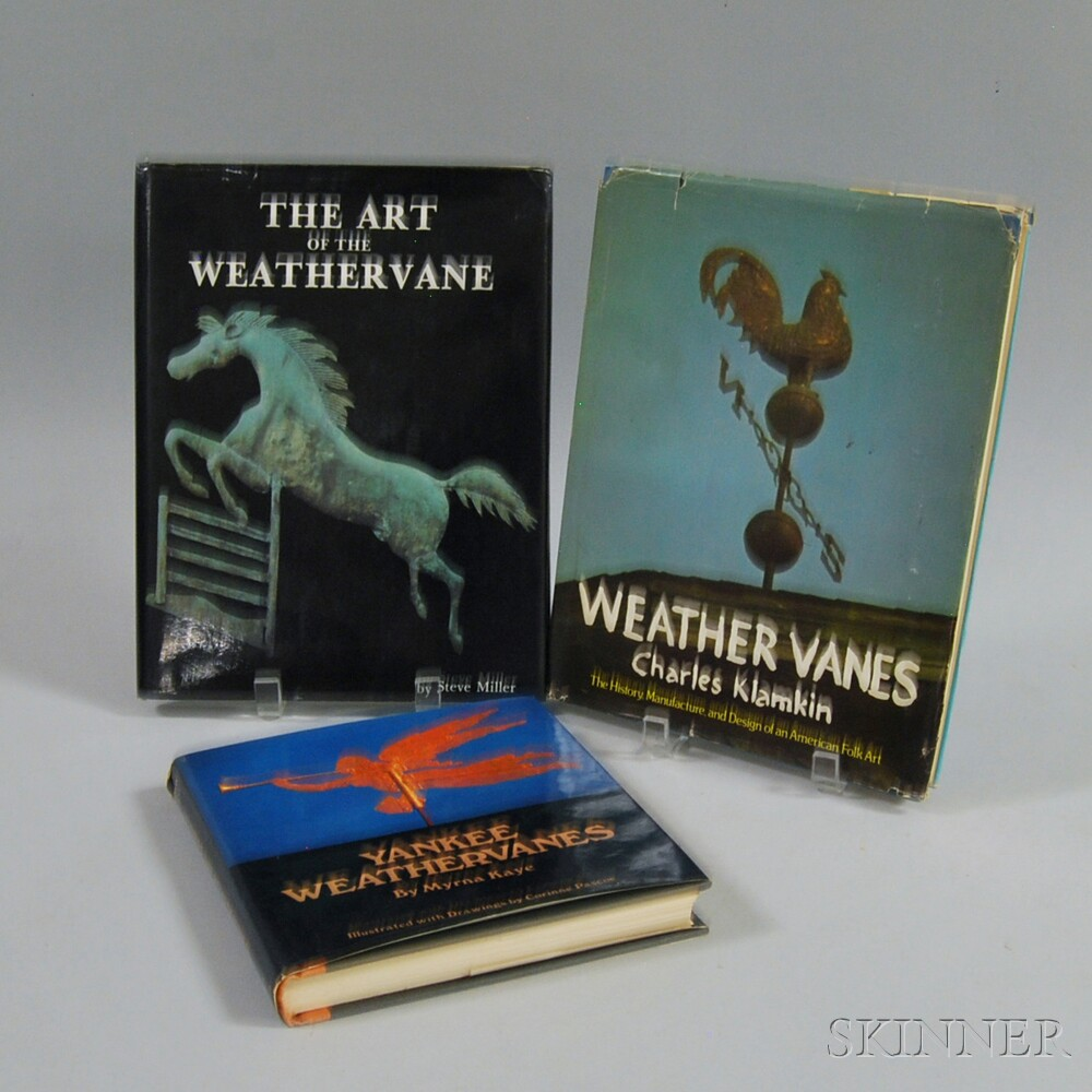 Three Books on Weathervanes