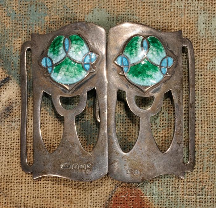 Art Nouveau Belt Buckle