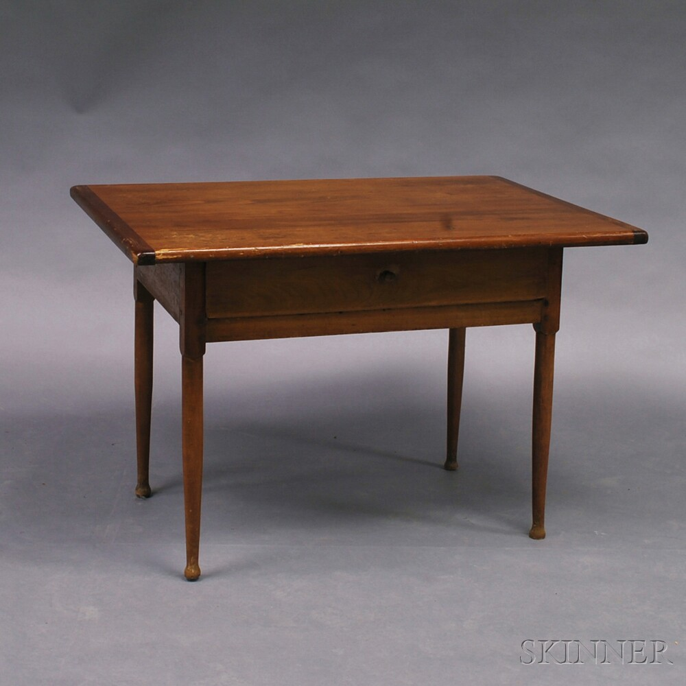 Country Pine One-drawer Tavern TableCountry Pine One-drawer Tavern Table