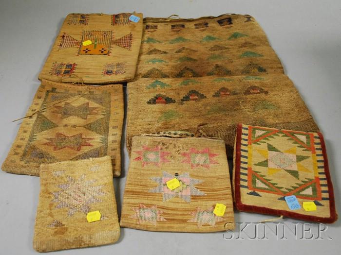 Six Plateau Cornhusk Bags