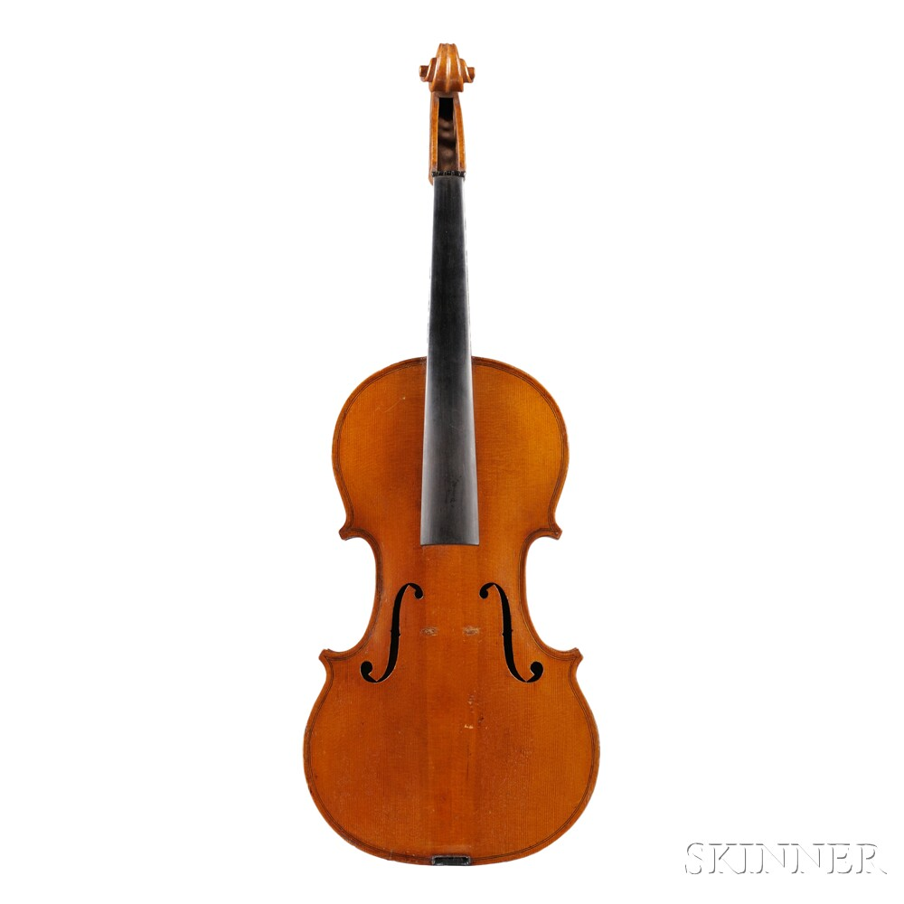 English Violin, Charles Adin, Manchester, 1889
