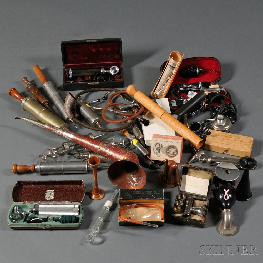 Large Collection of Medical Instruments