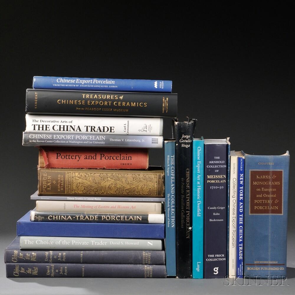 Twenty Books on Chinese Export Art