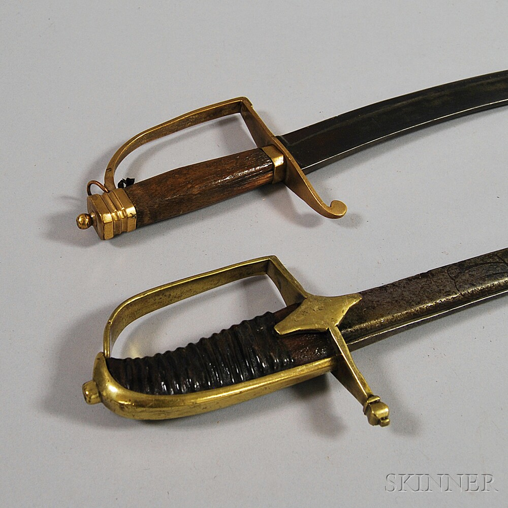 Two Cavalry Sabers